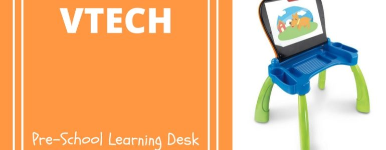 vtech pre-school interactive create and discover learning desk