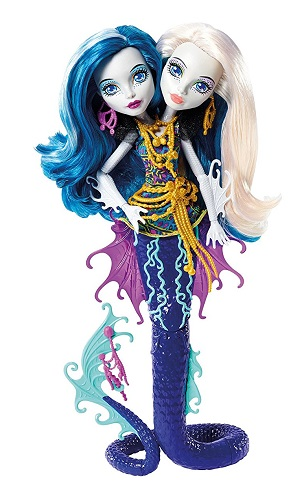 Monster High Great Scarrier Reef Peri and Pearl Serpentine Doll