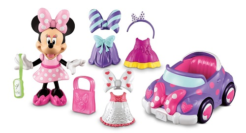 Minnie Mouse - Minnie's Convertible Car and Doll