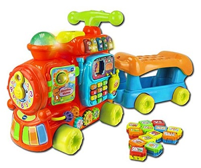 vtech baby push and ride alphabet train review