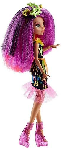Monster High DVH70 Electrified Monstrous Hair Ghouls Clawdeen Wolf Doll
