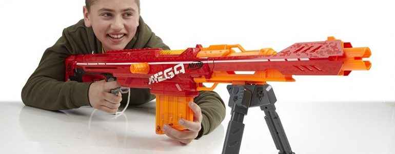 most powerful nerf gun